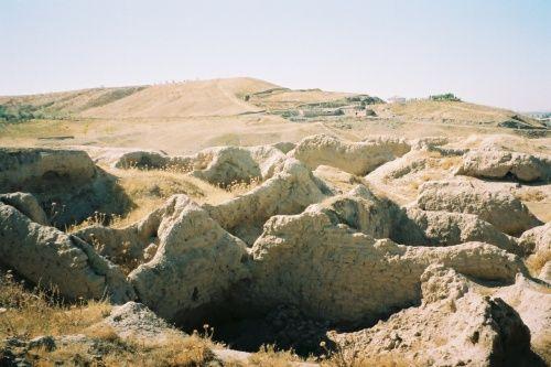 中央アジア シルクロードの旅 タジキスタン ペンジケント遺跡 (その他の都市)