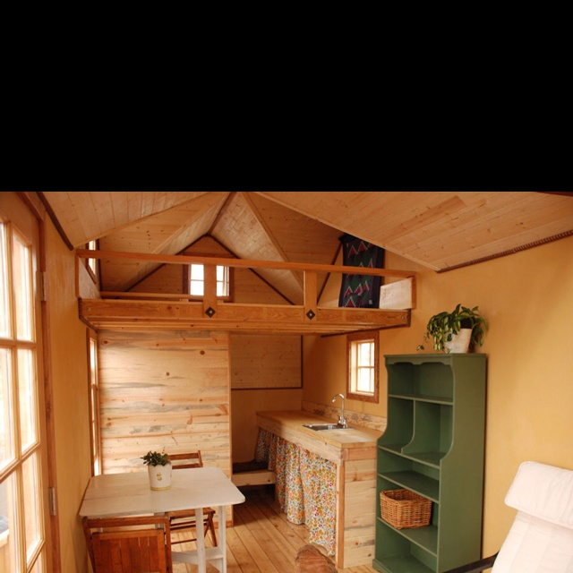 Tiny house inside for the home pinterest tiny houses for Homes for sale inside