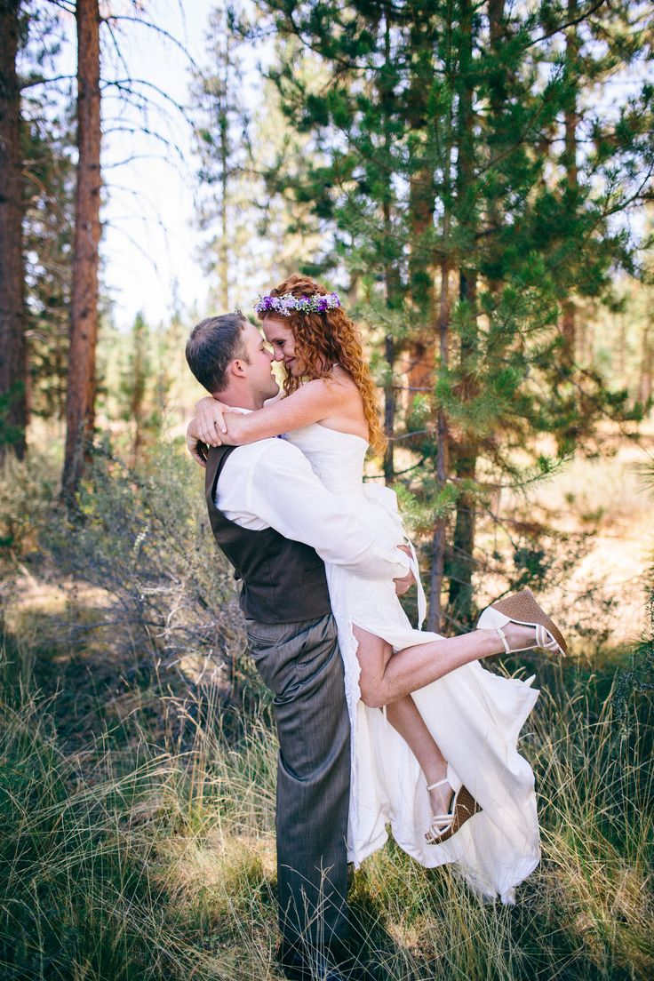 Cool Kristen and Cam Bend Oregon Backyard Wedding Getting ready bride wedding dress wedding dress Hurtienne Photography Oregon Wedding Photograp u