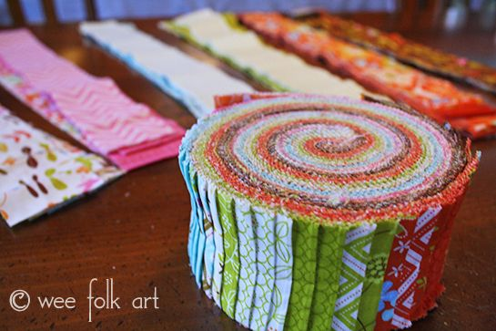 Jelly Roll Race Quilt :: Changing the Quilt Size & Determining Number of Strips   Wee Folk Art