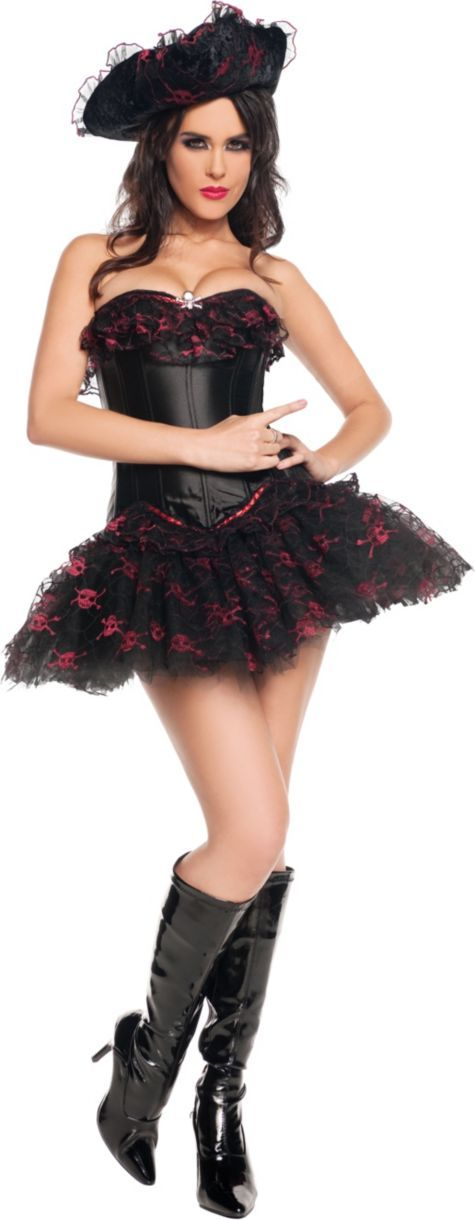 Adult Sultry 7 Seas Pirate Costume - Party City Canada