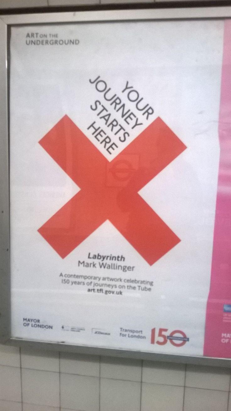 TFL poster London TransportPublic TransportLondon UndergroundMapsCards