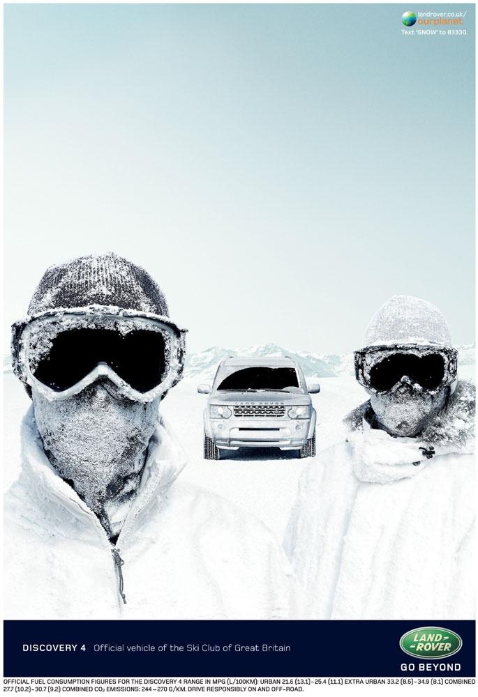 Land Rover Discovery press ad - RKCR/Y&R