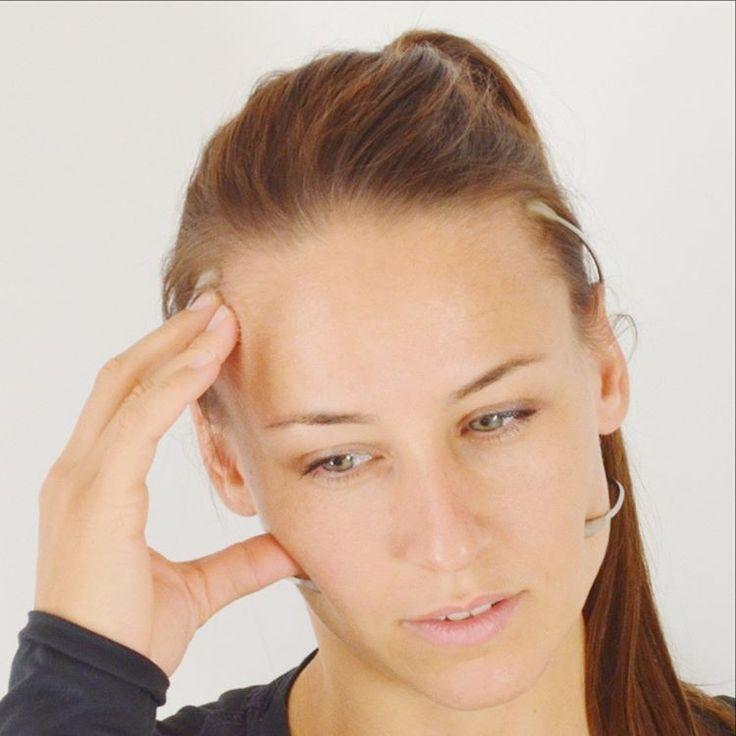 Typische Schmerzpunkte bei #Bruxismus und CMD (#CraniomandibuläreDysfunktion) behandelt mit dem #RelaxBogen #Bruxism #TMD