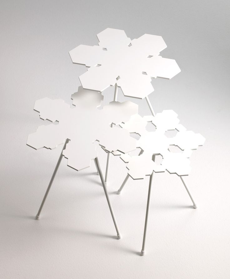 OFFECCT - Snowflakes Tables