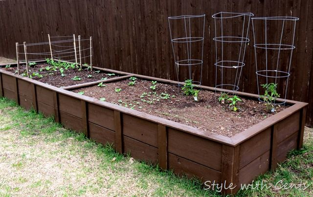 square foot gardening how to garden in a raised garden bed4