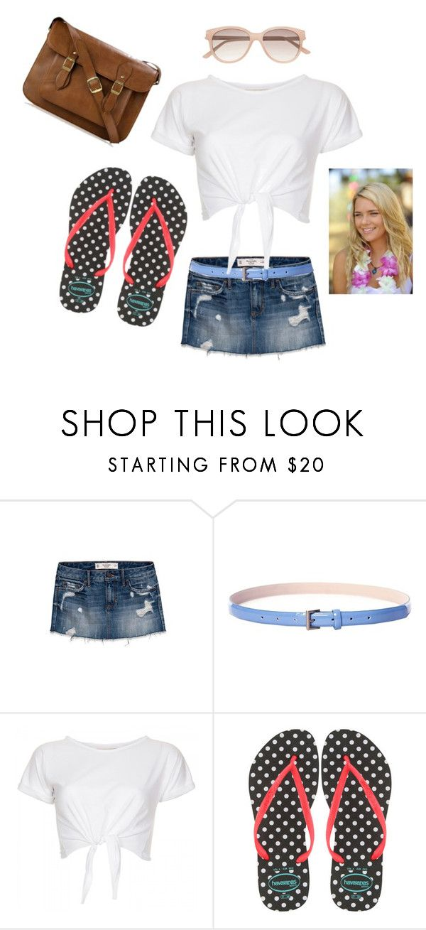 """Board walk"" by bubbleup7up ❤ liked on Polyvore featuring Abercrombie & Fitch, INC International Concepts, Havaianas, Witchery, indiana evans and h2o just add water"