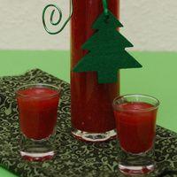 Zucker und Vanillinzucker in heißem Wasser auflösen und abkühlen lassen. Je nach Saison Erdbeeren auftauen oder putzen. Die Früchte mit dem...