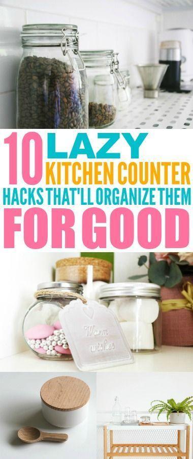 10 Smart Kitchen Countertops Organization Hacks Kitchen Countertop
