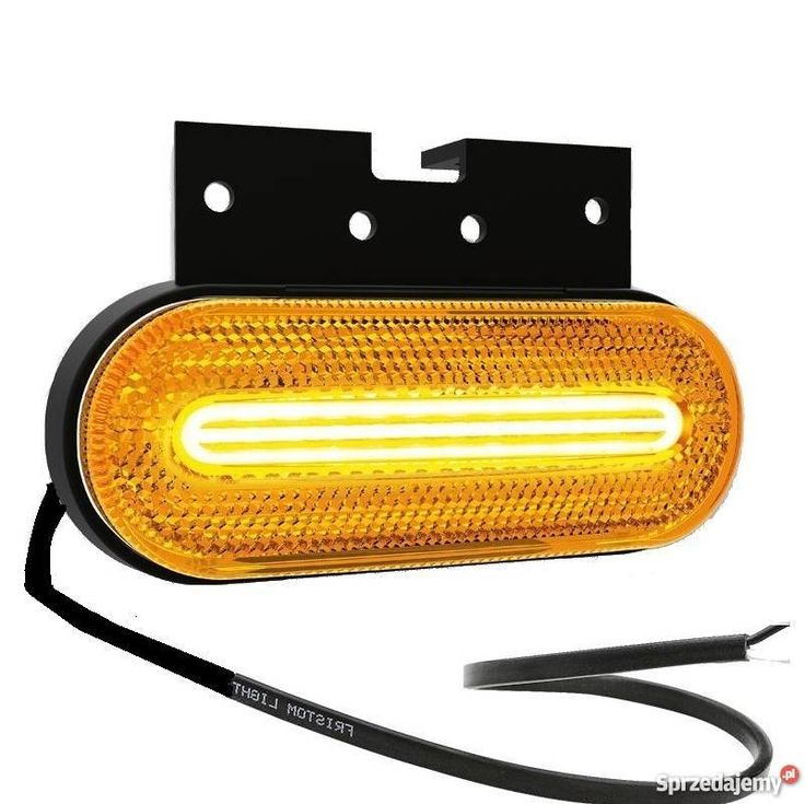 Lampa Obrysowa Boczna Led Z Kierunkowskazem Neon Naczepa Tir Volvo Car Lights Led
