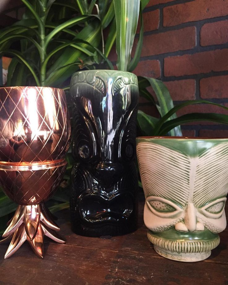 Sun Calls For Tiki Cocktails • We've Got The Perfect Vessels • 🌺