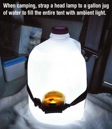Such a great idea for camping. I think I may try this when the weather gets warmer for our family camping trips!