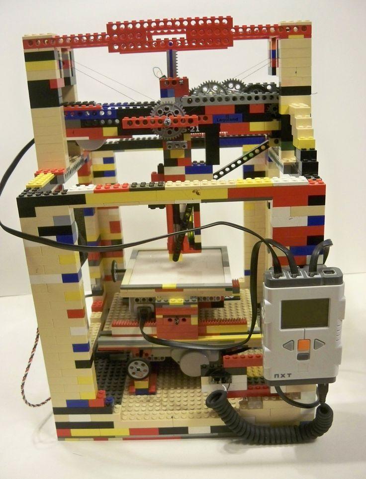 Functional Lego 3D Printer