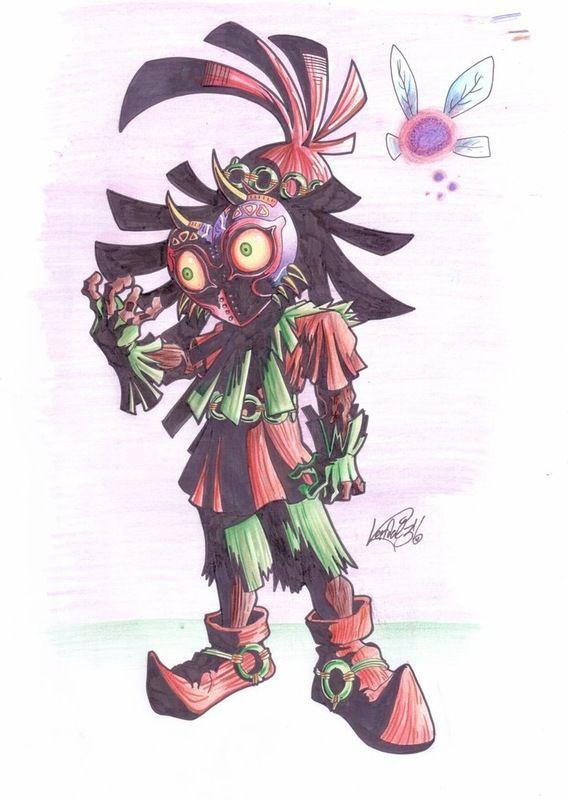 Kendal 316 - skull kid