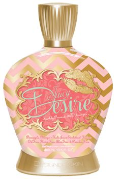 New by Designer Skin ~ Juicy Desire ~ DHA Bronzer, Freshly Pressed 18X Bronzer, Pineapple, Mango + Kale Juice Evolution Fusion, Oil Free, Aloe Free and Paraben Free with a Pineapple Prosecco fragrance