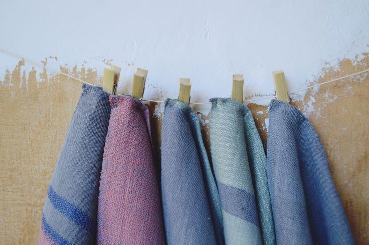 hand woven tea towels - Eszter Tóth