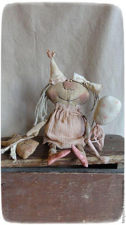 Ароматизированные куклы ручной работы. Ярмарка Мастеров - ручная работа А мы пойдем сегодня в цирк???????????:))))). Handmade.
