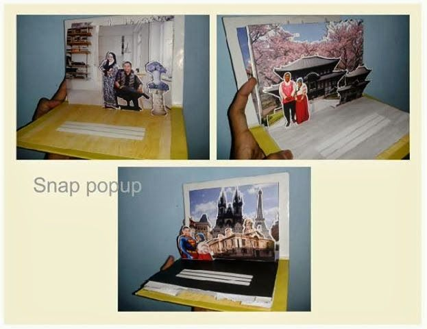 snappopup: pop up card: in japan