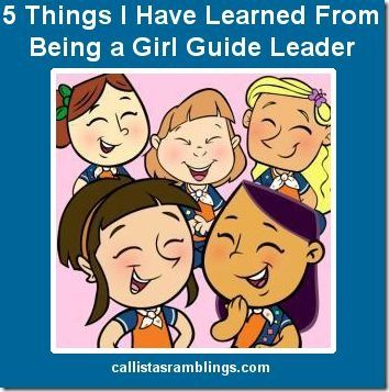 5 Things I Learned From Being a Girl Guide Leader #girlguides