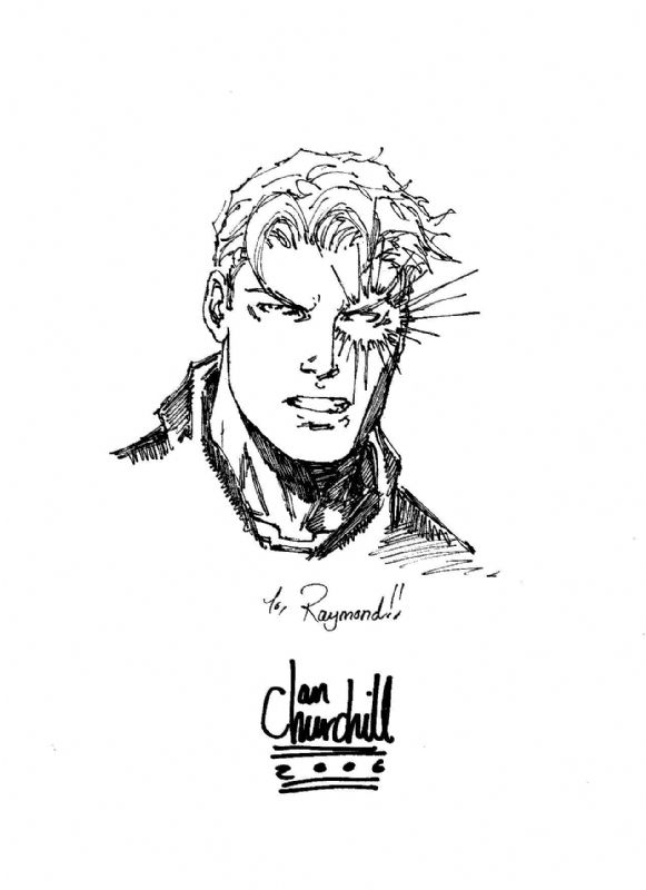 Nate Grey (X-Man) by Ian Churchill