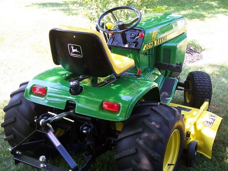 John Deere 400 Garden Tractor Attachments : John deere tractors pinterest