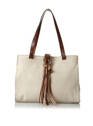 60% OFF Carla Mancini Women's Carmel Tote Bag, Off White