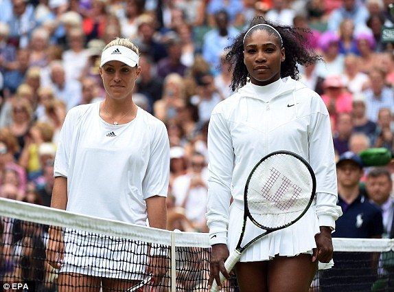 Wimbledon ladies final 2016 LIVE: Tennis score, match results for Serena Williams vs Angelique Kerber | Daily Mail Online