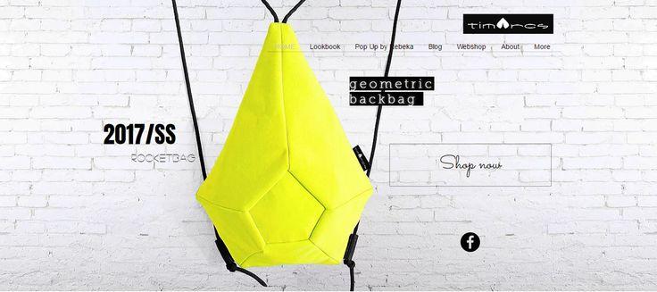 geometric backbag sport luxe style