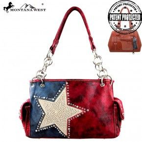 Concealed Carry Texas Star Handbag