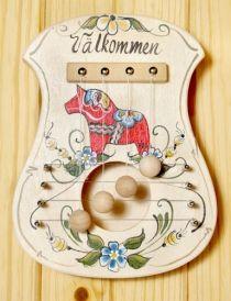 Scandinavian Door Harp - www.hemslojd.com