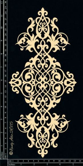 Gaming Teppich The Dusty Attic - Da1435 Ornament Trim #2 | Msk | Stencil