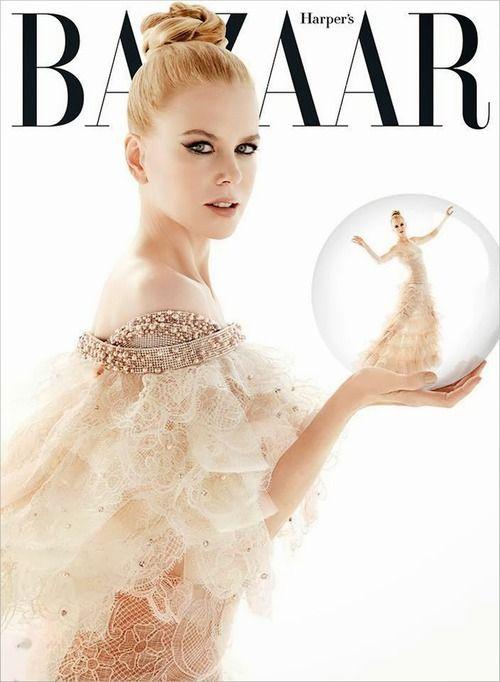 Nicole Kidman for Harpers Bazaar