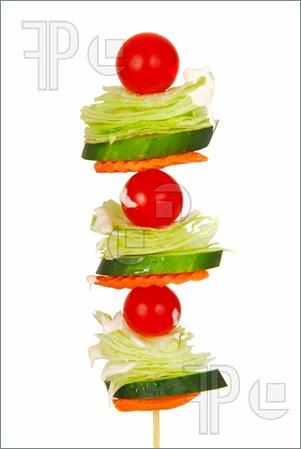 Salad. On. A. Stick.