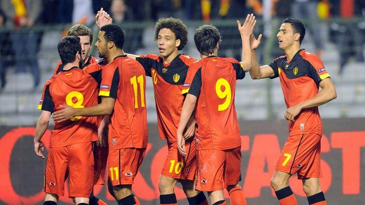 #Belgica, una seleccion de futbol exquisito vuelve a los mundiales para alegria de los aficionados.- 2014 FIFA World Cup Brazil™ Preliminaries - Europa - Equipos