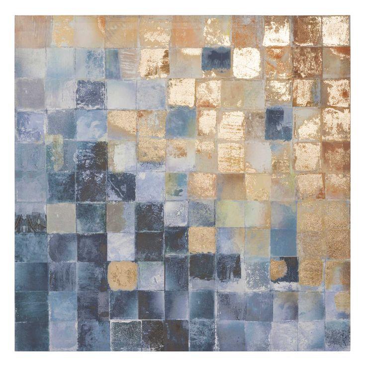 Leinwand 80 x 80 cm BLUE