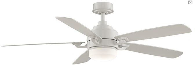 """8"""" Benito 5 Blade Ceiling Fan with Remote"""