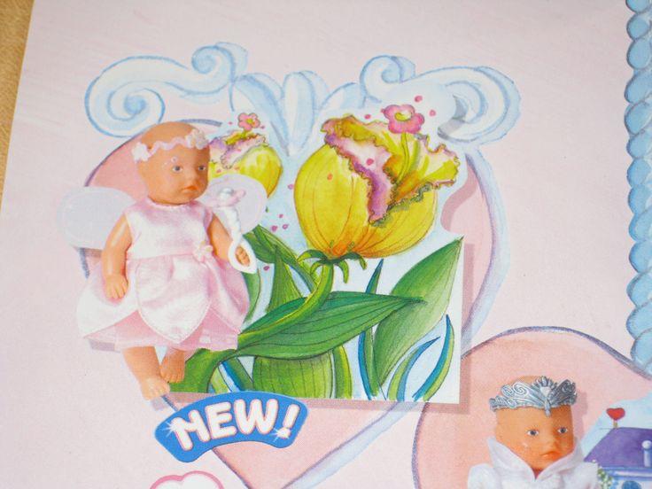 wie neu, Baby Born Miniworld Elfe Sammleredition, Display, rosa, Fee in Spielzeug, Puppen & Zubehör, Babypuppen & Zubehör   eBay!