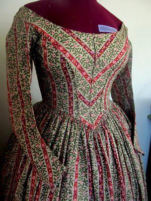 Lovely 1840's Dress!