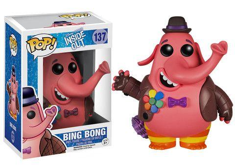 Pop! Disney: Inside Out - Bing Bong   Funko