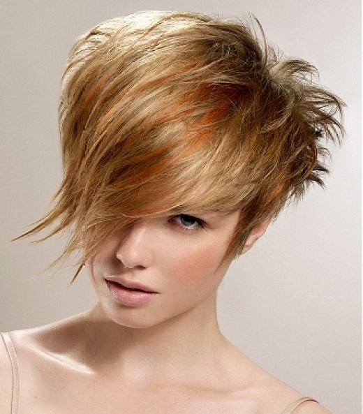 Crazy Short Haircuts Funky Crazy Hairstyles