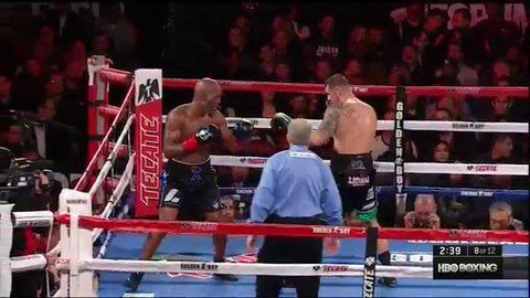 WATCH: Bernard Hopkins gets knocked entirely out of the boxing ring in final fight  Sad ending to a career....  Boxing legend Bernard Hopkins was hoping for one more decisive victory to end his venerable career on. Instead, those hopes went out of the ring with the rest of his body in the boxer's first career knockout loss to Joe Smith on Saturday night in California…