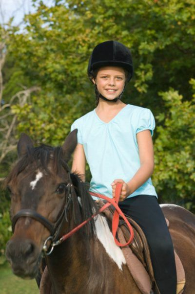 Horseback riding is a beneficial sport for children with low muscle tone.
