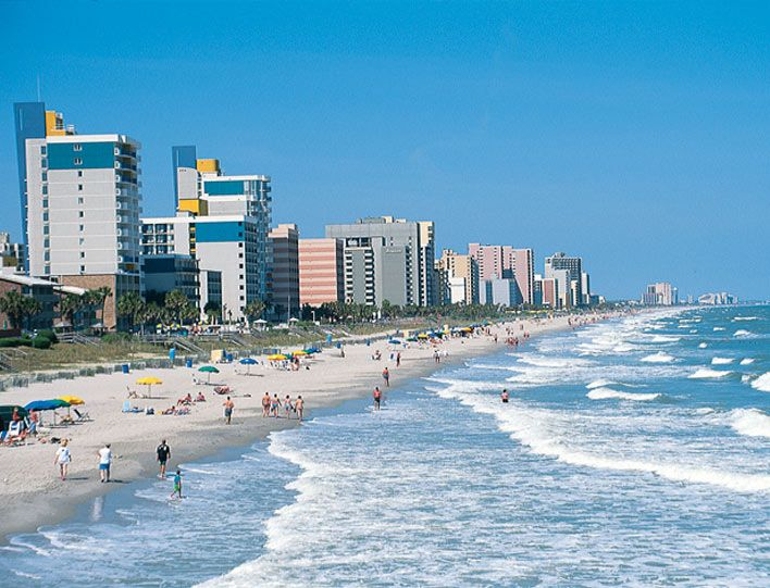 Myrtle beach. One of the places I can remember best with my whole family.