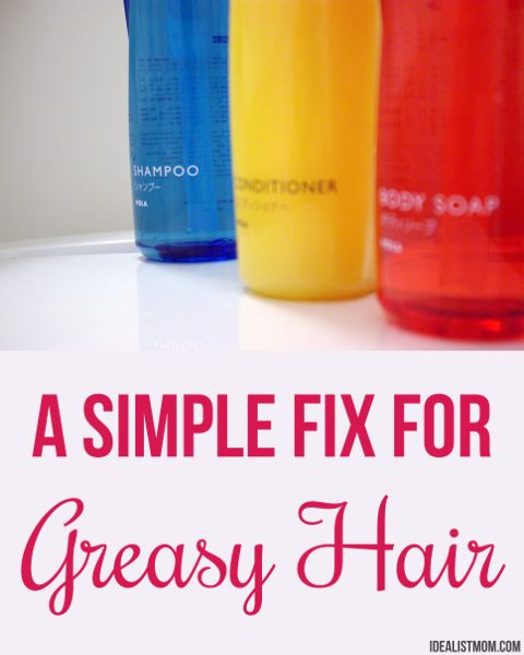 how to transform flat, greasy hair into shiny, bouncy locks using a staple you already have in your pantry - it's so simple you'll hardly believe it!