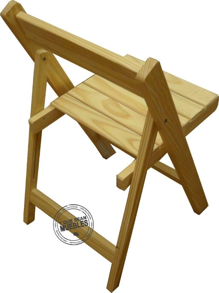 medidas de una silla plegable de madera - Buscar con Google