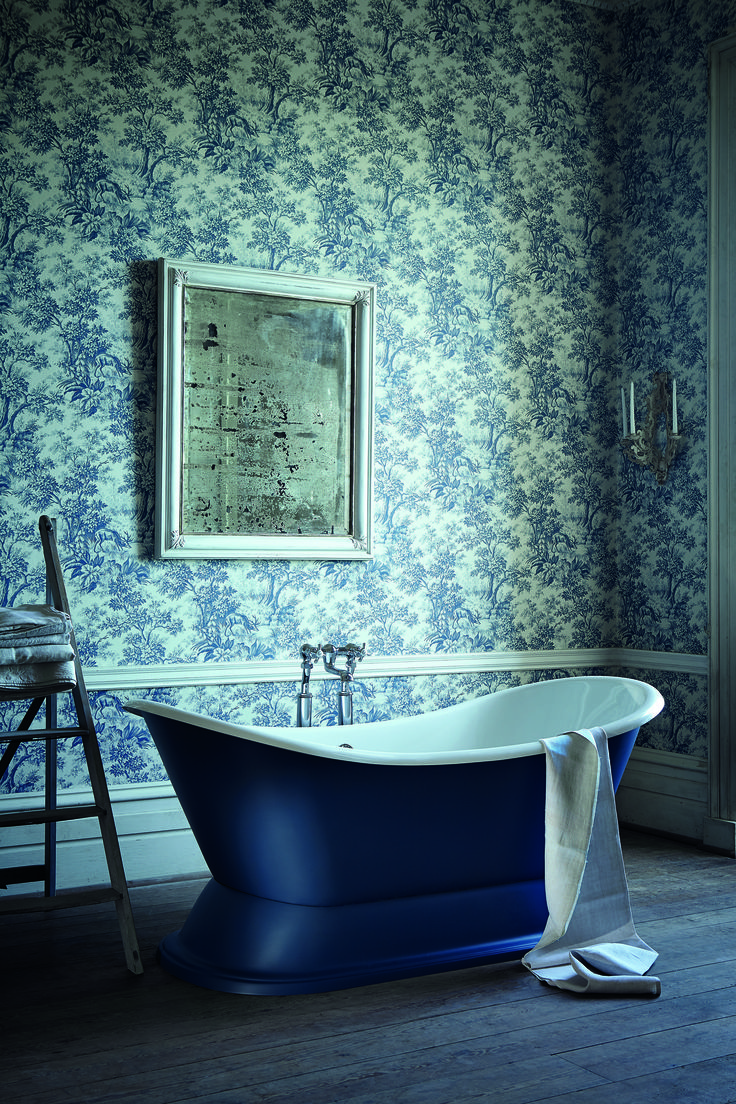 75 best salledebain bathroom images on pinterest bathroom original century english linen this single colour print of a woodland stag is much less formal than the typical toile de jouy designs which originated