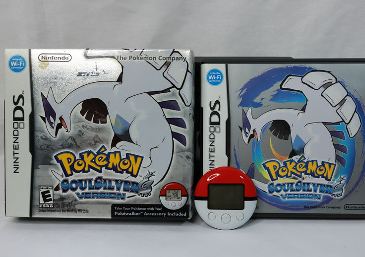 Pokemon Soul Siver w/pokewalker. You could transfer your pokemon and train with them outside the game. It counted steps and level ups with you. It was pretty cool.