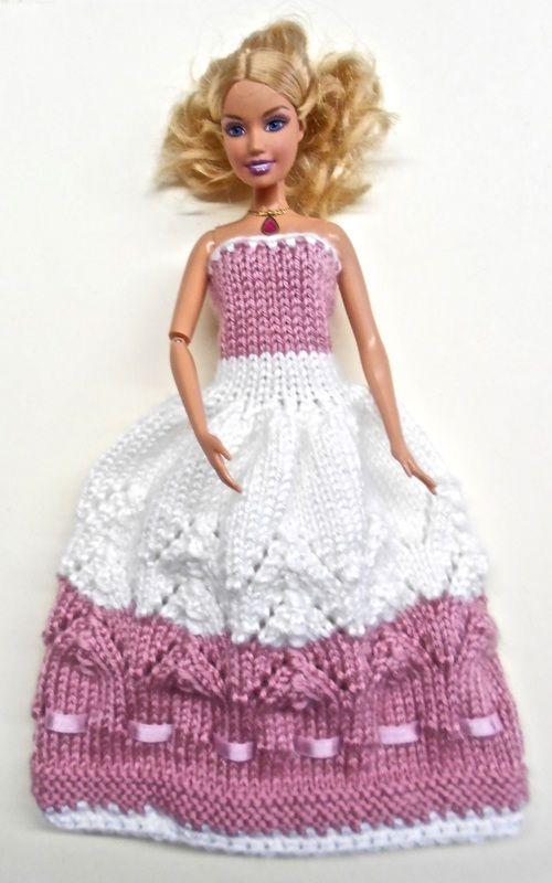 Pin von Elke Krüger auf Barbie   Barbie kleider, Stricken und Häkeln