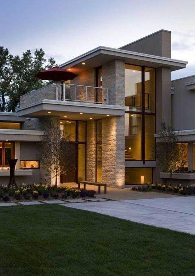 Pin By Ayse Genc On Home Design Decor Contemporary House Exterior Facade House House Exterior