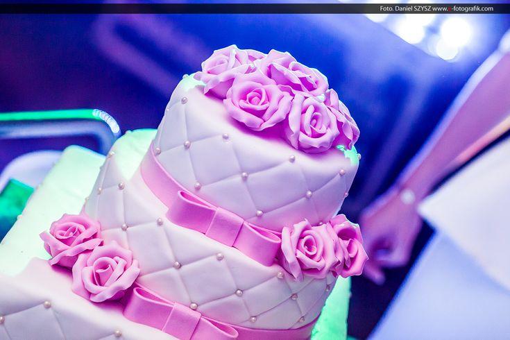 ślub - wesele - tort